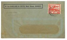 R305 1944 GB *JERSEY* Channel Islands St Helier CDS Cover {samwells-covers}PTS
