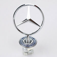3D Alloy Hood Emblems for Mercedes Benz W202 W204 W221 W208 W220 Spring Mounted