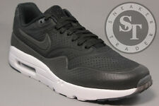 NIKE AIR MAX 1 ONE ULTRA MOIRE 705297-013 BLACK WHITE DS SIZE: 9.5