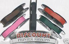 Universal Typewriter Ink Ribbon New - Pink Purple Red Green Black Ink Ribbons
