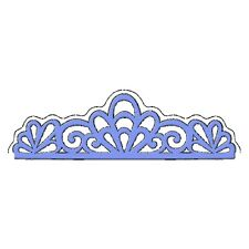 Sweet Dixie Die Scroll Edge Cut Emboss Stencil detailed intricate border lace