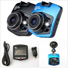 HD 1080P Blue Shell Car Video Recorder Driving Tachograph Dash Cam Night Vision