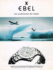 PUBLICITE ADVERTISING 045  1997  EBEL  collection montre SPORTWAVE