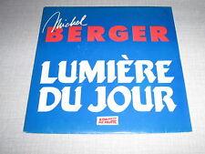 MICHEL BERGER 45 TOURS FRANCE PROMO LUMIERE DU JOUR