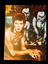 VINTAGE CONCERT PROGRAM-DAVID BOWIE-DIAMOND DOGS-TOUR BOOK-RARE-CASE FRESH-MATTE