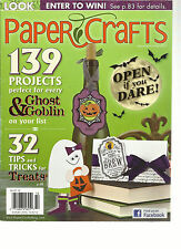 PAPER CRAFTS MAGAZINE, SEPTEMBER / OCTOBER, 2012  ( 32 TIPS & TRICKS FOR TREATS