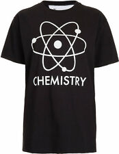 TOPSHOP CHEMISTRY GLOW IN THE DARK TEE AND CAKE TOP M 10 12 38 40 6 8!