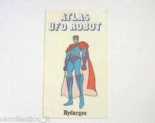 ADESIVO anni '80 / Old Sticker HYDARGOS di ATLAS UFO ROBOT (cm 6 x 10) Edierre