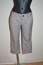 PANATCOURT  BERMUDA LONG ELEMENT SHORT ALBANY CAPRI NEUF TAILLE 38/40 /US W 29