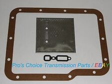 Aluminum Powerglide Transmission Oil Pump Filter & Pan Gasket Service Kit --ALL