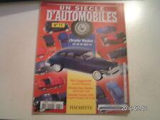 ** Un siècle d'automobile n°71 Chrysler Windsor / Chevrolet Corvette 2001