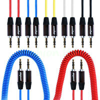 2M 3.5mm Mini STEREO Jack to Jack Aux Cable Audio Auxiliary Lead PC Car GOLD