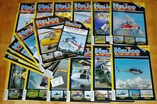 18x Helicobacter revue hélicoptère rc Full-size Helicopter magazine zeitschr 2007 2008
