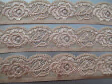 5 yards of high quality stretch lace embroidery lace See color Free Shipping!