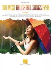 100 Most Delightful Songs Ever Sheet Music Piano Vocal Guitar SongBook 000145438