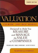 Valuation: Measuring and Managing the Value of Companies Wiley Finance
