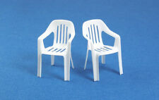 1/35 Scale model kit Plastic Garden Chairs -3D printed 2 pack diorama accessory