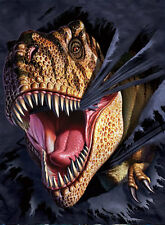 Dinosaurs & Cloth Lenticular 3D Picture Poster Painting Home Wall Art Decor