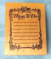 PSX K-148 Things to do Elegant frame note pad journaling list stationary stamps