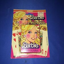1979 Barbie Plastic Coated  Playing Cards~NEW~Sealed~