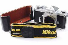 Nikon F Eyelevel 35mm SLR Film Body Nippon Kogaku EXC+ from Japan