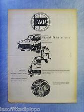 LAUTOM960-PUBBLICITA'/ADVERTISING-1960- LANCIA FLAMINIA (versione B)