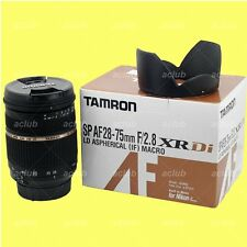 Tamron SP 28-75mm f/2.8 XR Di LD (IF) Macro Lens A09NII A09N-II for Nikon AF