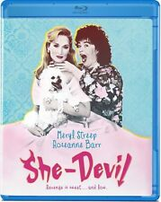 SHE-DEVIL (Meryl Streep) Region A - BLU RAY - Sealed