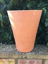 TOM Long TERRACOTTA VASO/Yorkshire vaso di fiori 33 cm di altezza (310)