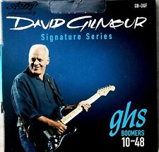 1 jeu CORDES GHS David GILMOUR BLUE 10-48 GUITARE Electrique Strings Set