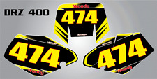Custom Graphics for Suzuki DRZ 400, 2000 +