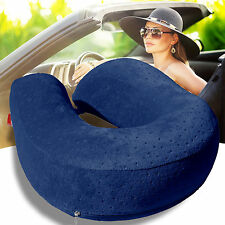 Bookishbunny Memory Foam U Shaped Travel Pillow Neck Support Head Rest Cushion