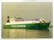 FE0059 - Finncarriers Ferry - Arcturus in North Sea Canal - postcard