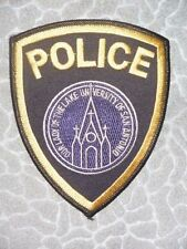 """Our Lady of the Lake University of San Antonio Police Patch - Texas - 4"""" x 5"""""""
