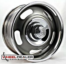 "18x9"" AMERICAN RACING RALLY WHEEL VN327 GRAY CUSTOM CHEVELLE CAMARO MALIBU C10"