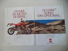 advertising Pubblicità 1990 MOTO GILERA RC 600