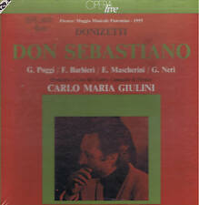 Donizetti DON SEBASTIANO Barbieri Poggi Mascherini Giulini BOX 3 LP Cetra SEALED