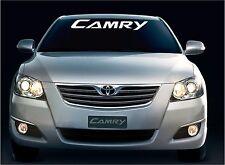 camry vinyl decal sticker window windshield banner