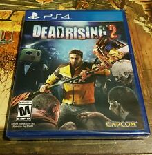 DEADRISING 2 ZOMBIES PS4 US RETAIL GAME SONY YFOLD FACTORY SEALED BRAND NEW