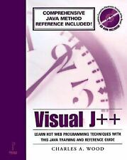 NEW - Visual J++ with CDROM by Wood, Charles A.