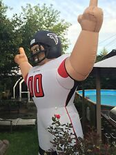 NFL Atlanta Falcons Inflatable AirBlown Tiny Yard Football Player Gear Apparel