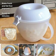 Micro-ondes popcorn maker serving bowl machine à pop corn cuiseur sans gras sans huile