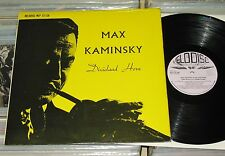 Max Kaminsky & His Jazz Band - LP (VG+) Dixieland Horn (Eddie Condon) U.K