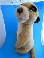 "Rare HTF  Adorable 14"" Meerkat Plush  Tony Toy Exc condition"