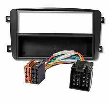 MERCEDES BENZ C W203 CLK W209 Viano Vito AUTO RADIO BLENDE ADAPTER #6123/4686#