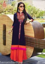 Gorgeous Designer Heavy Rayon Cotton Embroidered Kurti, Kurta,Tunic in XXL Size