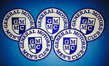 5 Lot Rare Vintage 70's General Motors Men's Club Car Seatcovers Jacket Patches