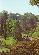 Wiltshire Postcard - Temple of Apollo - Stourhead Gardens   AB600