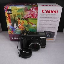 Canon Powershot G5 5.0 MP Point and Shoot Digital Camera MINT LN