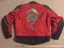 Cortech Tour Master Textile PADDED MOTORCYLE RIDING JACKET XL/46 Drax Dragon